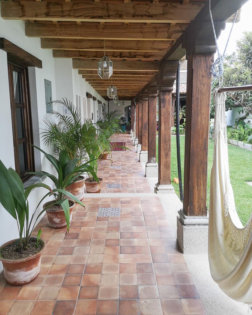 Jardin de Stela Antigua