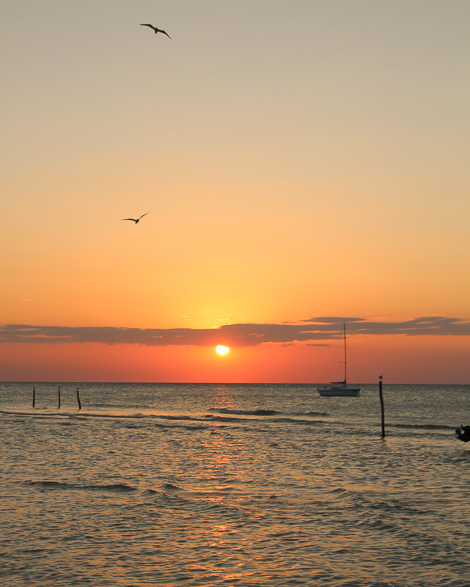 Sunset Holbox
