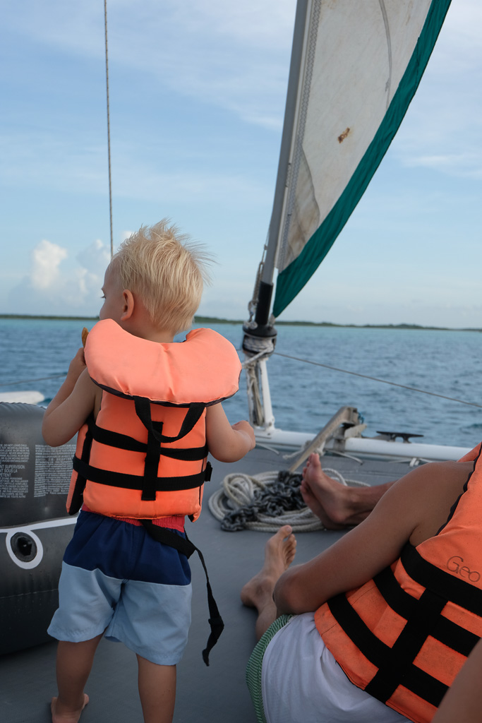 Bacalar catamaran tour